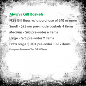 Basket sizes